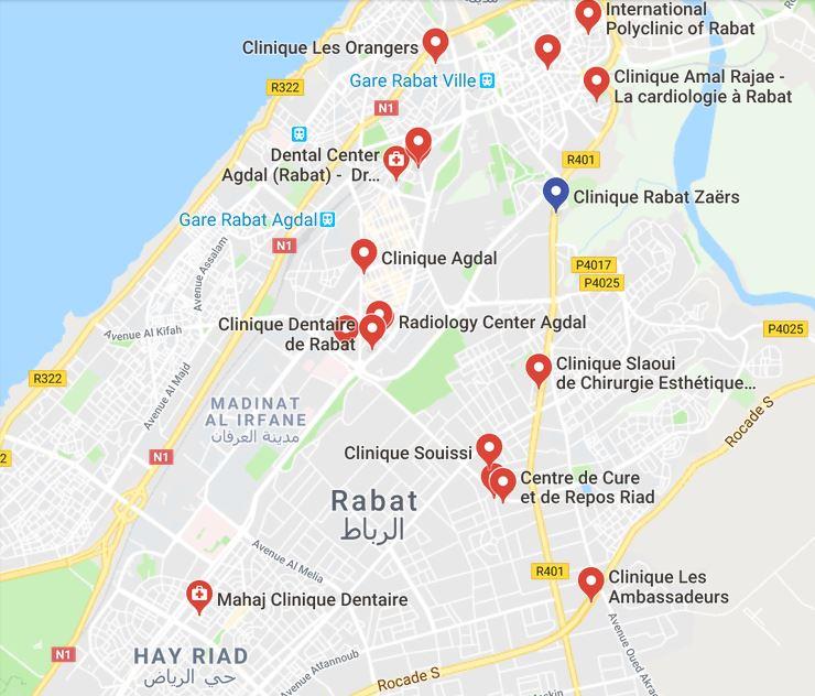 Partagez sur Google Map