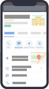 google map message